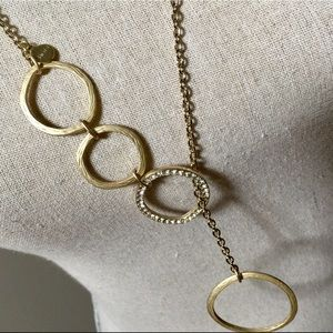 CHICO'S Golden Circle Necklace